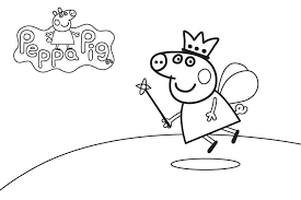 Peppa Pig Colouring Pages Online Peppa Pig Coloring Pages Online