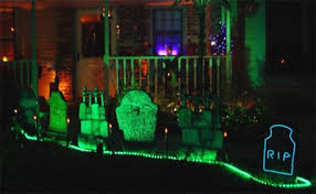 spooky lighting. Spooky Halloween Light Installations Lighting D