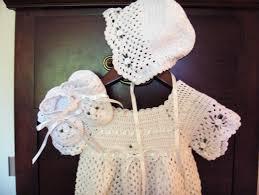 Free Crochet Christening Gown Patterns Best Design Ideas