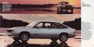 1981 Chevrolet Citation X 11 Hatchback Coupe Eighties Cars