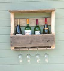 Reclaimed Wood Wine Cabinet Salvaged Wood Wine Rack Small Home Kitchen Pantry Del