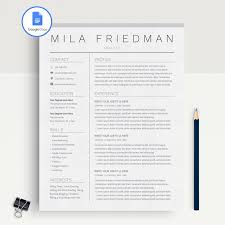Functional Resumeplate Google Docs Resume Templates 008plates Free