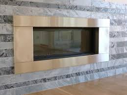 stainless steel fireplace surround – lee's custom metal  denver