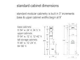 Kitchen Cabinet Door Size Chart Kitchen Cabinet Sizes Chart Width Standard Impressive Door