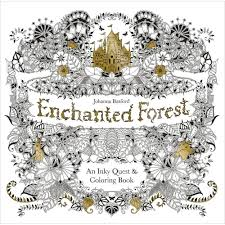Enchanted Forest An Inky Quest Coloring Book Johanna Basford Funny Coloring Book Artlll L