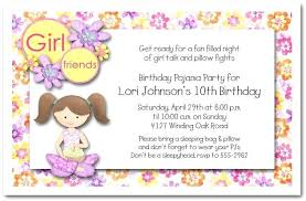 Birthday Invitations For Girls Packed With Girl Birthday Invitation