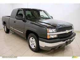 Silverado 2003 chevy silverado extended cab : 2003 Chevrolet Silverado 1500 LS Extended Cab in Dark Gray ...