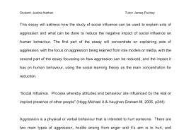 aggression and the social learning theory a level psychology  document image preview