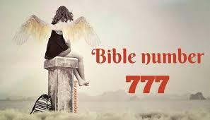 Bible Numerics Chart 777 Biblical Meaning