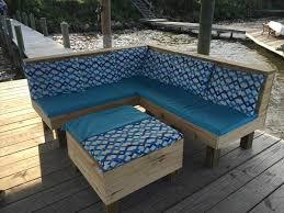 outdoor pallet deck furniture. Diy Pallet Patio Sectional Sofa Set Outdoor Deck Furniture T