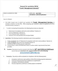Services Quotation Template 16 Free Travel Service Quotation Templates Ms Office