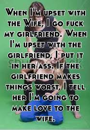 Screw my girlfrind in the ass