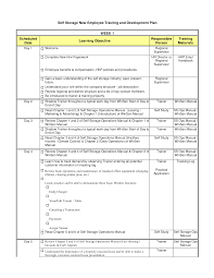 Business Schedule Template 004 Training Schedule Template For New Employees Business