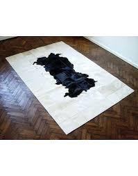 black white cowhide rug patchwork cowhide rugs black white patchwork cowhide rug faux fur throws