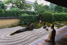zen garden design japanese rock garden