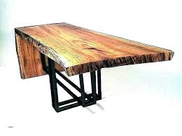 small live edge accent table decoration solid threshold