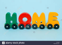 Word Cars Word Home Made Of Letters Train Cars Alphabet Bright Colors Of Red