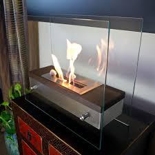 com nu flame ardore foreste tabletop fireplace nu flame home kitchen