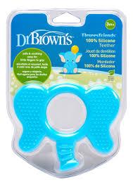 <b>Прорезыватель для зубов</b> Flexees Слоник TE102 (голубой) Dr ...