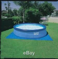 Intex 15 x 48 Easy Set Above Ground Inflatable Family Swimming Pool