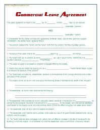 Office Rental Agreement Template Edit Free Commercial Lease Rental Agreement Format In Word