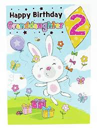 Funny Birthday Cards For Kids Happy 2nd Birthday Girls Greeting