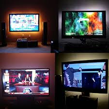 tv accent lighting. bias lighting for hdtv usb powered tv led lights home theater accent kit with tv t