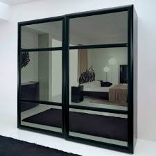 agreeable design mirrored closet. Decorating Small Bedroom : Great Home Furniture Design With Mirrored Sliding Door Closet Using Black Agreeable L