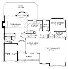 small 3 bedroom ranch house plans colonial style house plan 4 beds 35 baths 2400 sq ft 4 bedroom