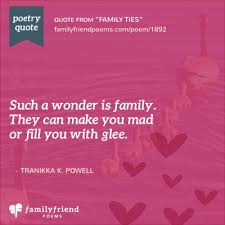 family ties hard times poem family ties