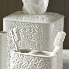 Purple Bathroom Bin Ceramic Porcelain Bathroom Accessories Youll Love Wayfair