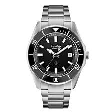 bulova watches h samuel bulova marine star men s stainless steel bracelet watch product number 1940392