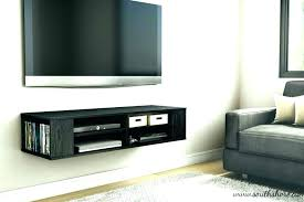 floating tv shelves floating shelf ideas wall mount with shelf intended for wall mounted shelf decorating