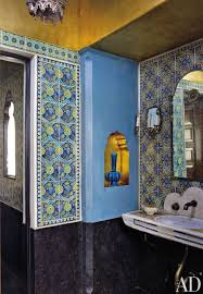 tiles moroccan decor exotic bathroom madeline stuart associates los angeles