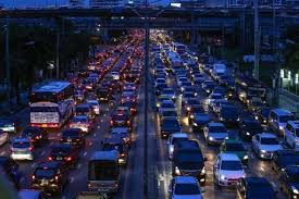 jammed up bangkok is second most congested city in the world jammed up bangkok is second most congested city in the world says study