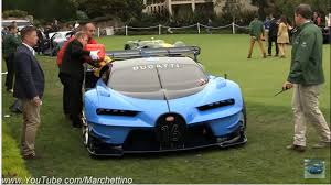 Bugatti tells us this vision gt previews the next generation of bugatti's design language. The Bugatti Vision Gt Concept Ran Out Of Fuel At Pebble Beach