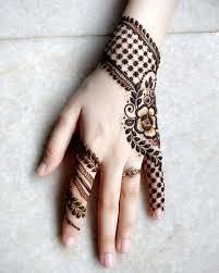 Tidak sempurna pengantin tanpa inai atau lukisan henna. Corak Inai Simple Di Tangan