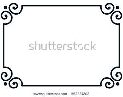 simple frame border design. Unique Border Frame Border Line Page Vector Vintage Simple To Simple Border Design F