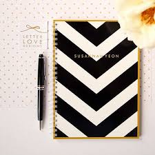 personalized notebooks and pencils gift for teen girl 2017