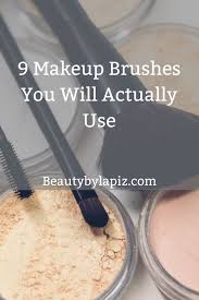 makeup brushes you need in your makeup kit as a beginner diy makeup makeup makeup brushes makeup tips