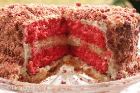 Strawberry Shortcake Cheesecake I Heart Recipes