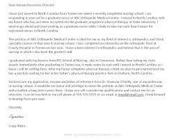 Nursing Cover Letter New Grad Nurse Cover Letter Sample Director Of ...