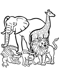 Animals Coloring Pages 54881 Bsacorporate