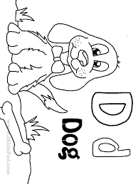 Small Picture D Coloring Page Miakenasnet
