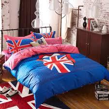 cotton british union jack flag bedding set bedding for kids teens fashion bedding sets united kindom