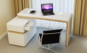 Special table design white acrylic desk small office table