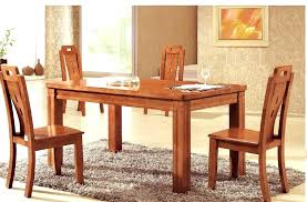 solid oak dining room sets dining room table and 6 chairs furniture set oak solid wood