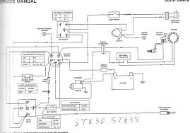 i have a scotts model s2552 garden tractor made by deere welcome to just answer small engines let me try to help you do diagram for any of the scotts brand here is a deere schematic be it will help