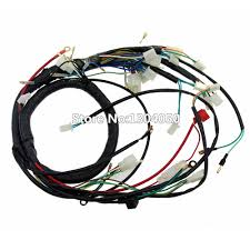 wiring looms for quad promotion shop for promotional wiring looms electric start wiring loom harness 200cc 250cc 300cc atv pit quad bike atomik thumpstar buggy go kart