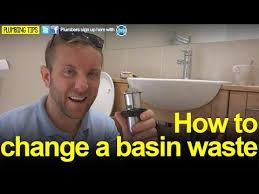 basin waste plumbing tips